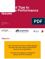 PERFORMANCE Tools and Tips to Diagnose Performance Issues