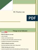 RC Practice One(New)_14.03.2014