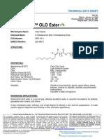 TDS-397 Schercemol OLO