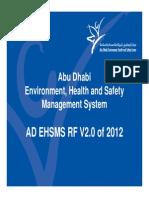 AD EHSMS RF - V2 0 - Standard Presentation