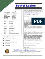 American Legion Newsletter Jan-Apr 2015