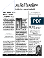 Igor's Hollywood Riviera Real Estate News January, 2015