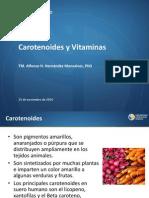 11. Carotenoides y Vitaminas