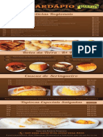 Cardápio Café da Floresta