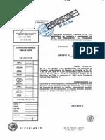 Decreto Supremo 105 (Modificación D.S.49)