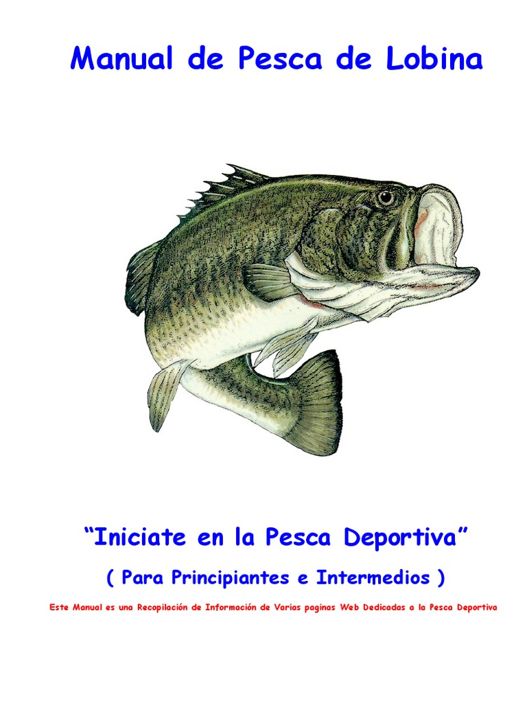 Manual de Pesca de Lobina