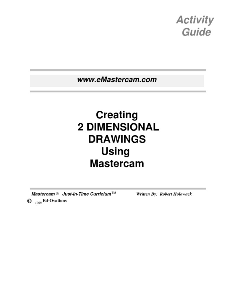 master cam creating 2 dimensional drawings button computing rh scribd com