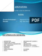 Mecanica de Fluidos II - Clase 01, CORREGIDO