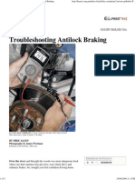 Popular Mechanics Troubleshooting Antilock Braking