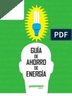 Guía de ahorro de energía