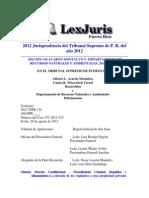 2012 Dts 134 Acaron Montalvo v. Departamento de Recursos Naturales y Ambientales, 2012tspr134 Registro y Allanamiento
