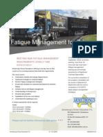 TLIF1007C Fatigue Management[1]