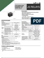 JS1-12V Relay Spec