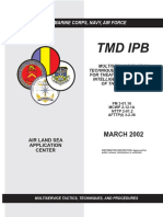 Army - fm3 01x16 - Multiservice Tactics, Techniques, and Procedures for Theater Missile Defense Intelligence Preparation of the Battlespace