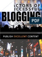 Tipps for Successful Blogging