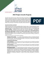 The NACP 2015 Project Awards Program