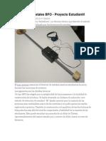 Detector de Metales BFO