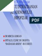 Abordul Intracranian Al Adenomului Hipofizar