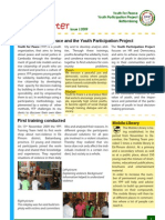 Youth For Peace Newsletter