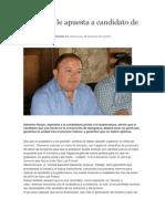 30/12/2014 Aspirante Le Apuesta a Candidato de Unidad
