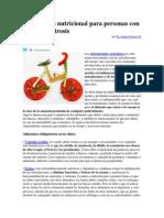 Dieta y Guía Nutricional Para Personas Con Artritis y Artrosis