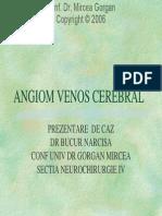Angiomul Venos Cerebral