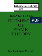 Venttsel Elements of Game Theory LML
