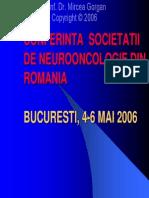 Conceptul Multidisciplinar in Tratamentul in Tratamentul Metastazelor Cerebrale
