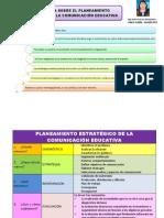 Planeamiento Estratégico de La Comunicación Educativa