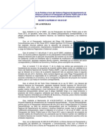 DECRETO SUPREMO Nº 109-2013-EF
