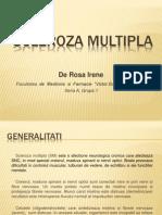 Scleroza multipla PPT