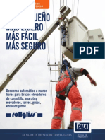 Rollgliss R520 Rescue and Descent Brochure - Spanish