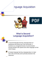 Second Language Acquisition PP