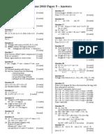 June 2003 Mark Scheme 1