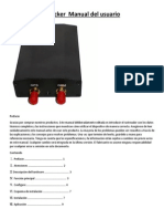 GPS veh+¡culo Tracker  Manual del usuario