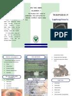 Leaflet Leptospirosis
