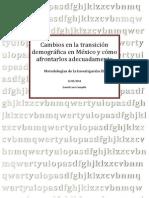 Transicion Demografica en Mexico1