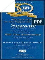 Seaway Bank 50th Anniversary