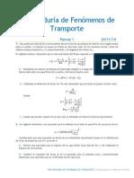 Preparaduría de Fenómenos de Transporte- Parcial 1
