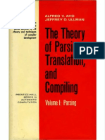 the Theory of Parsing Translation and Compiling Volume 1 Parsing