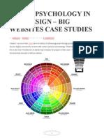 Sycologia Del Color en Diseño Web