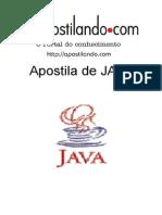 APOSTILA  DE JAVA