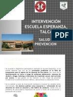 Intervención Escuela Esperanza, Talca