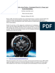 The New 2014 Range of Seiko Astron Watches – Technological Marvel & A Change Agent for the Watch Industry