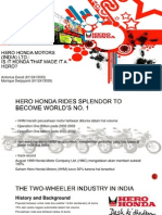 Hero Honda Motors (India) Ltd