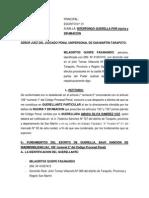INTERPONGO QUERELLA POR injuria y DIFAMACION milagritos.docx