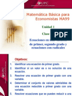 Clase 1.2 MBE Ecuaciones 1er_2do G.