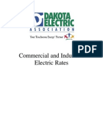 Dakota Electric Industrial & Commercial Rates