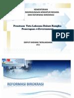 Tatalaksana Implementasi E-Gov