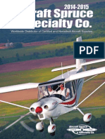 Aircraft Spruce 2015catalog
